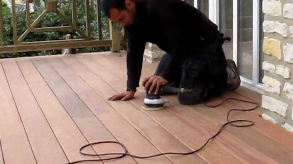 Poncer sa terrasse en sans effort avec les bons outils !