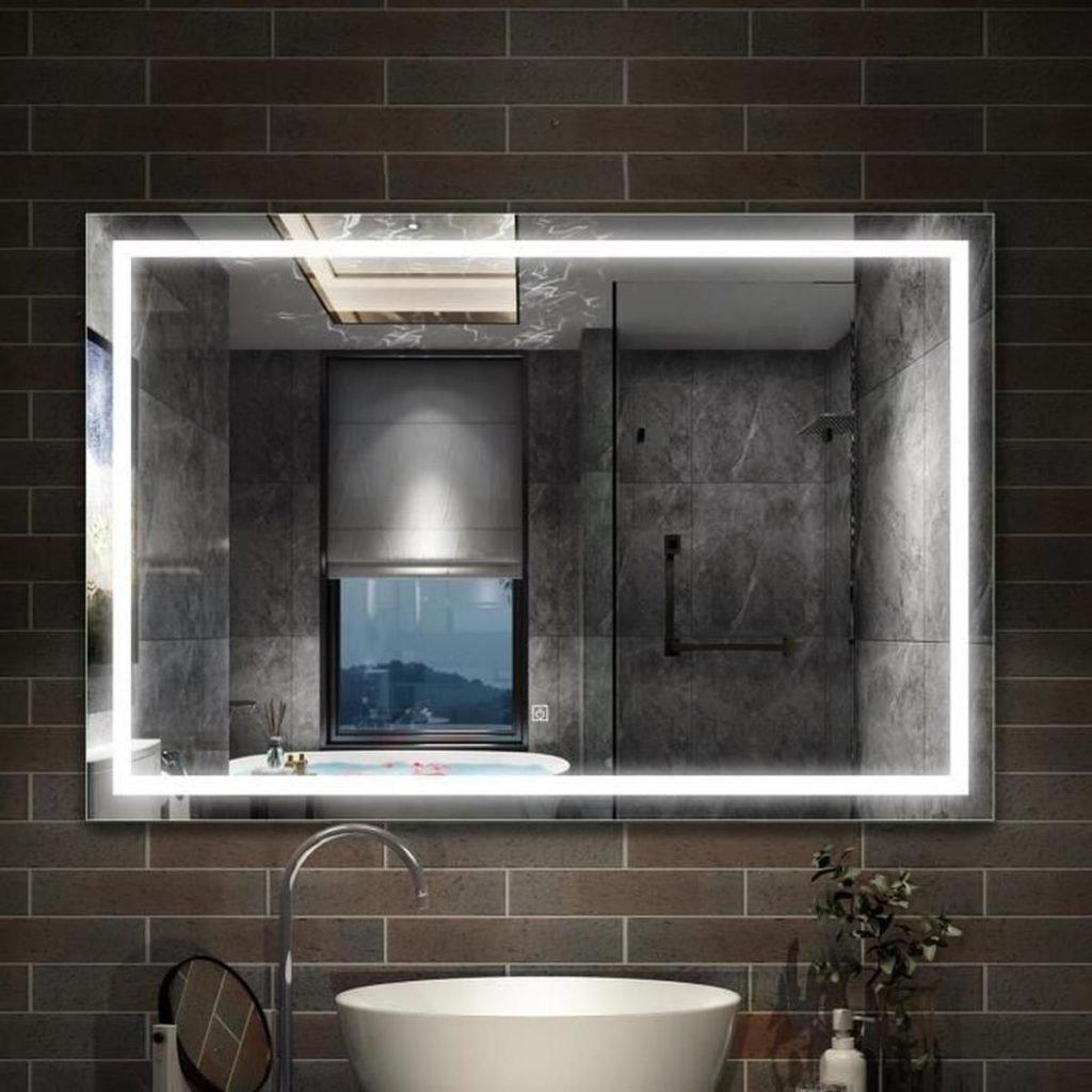 20 idées de miroir de salle de bain très tendance